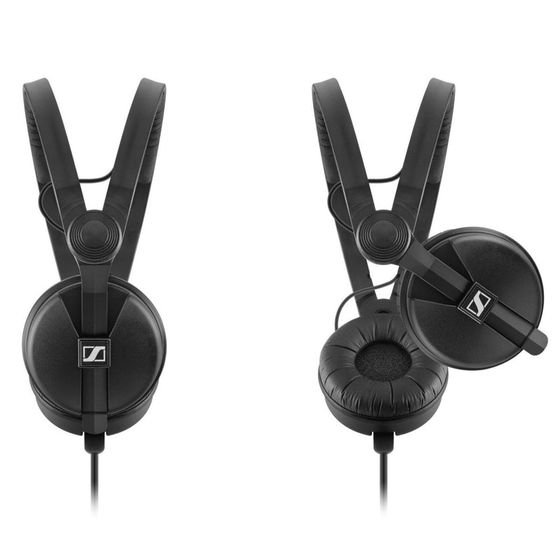 Sennheiser HD25 Plus On-Ear DJ Headphones w/ Straight & Coiled Cables