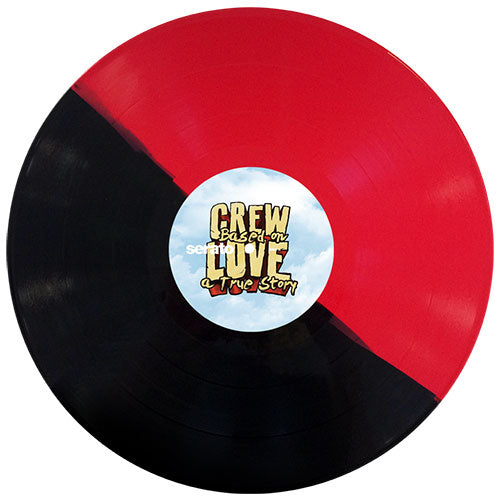 "Serato Pressings X CREW LOVE 3 X 12"" Triple Control Vinyl Set"