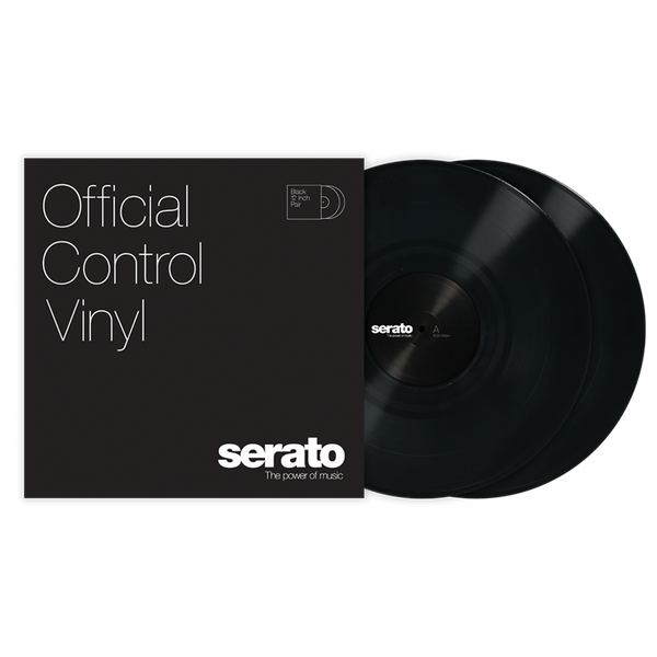 Serato Performance Series Control Vinyl Black (Pair)