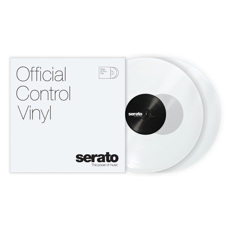 Serato Performance Series Control Vinyl Clear (Pair)