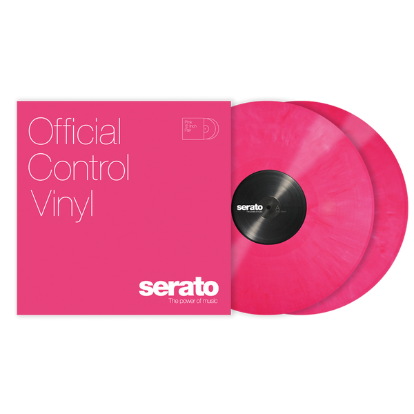 Serato Performance Series Control Vinyl Pink (Pair)