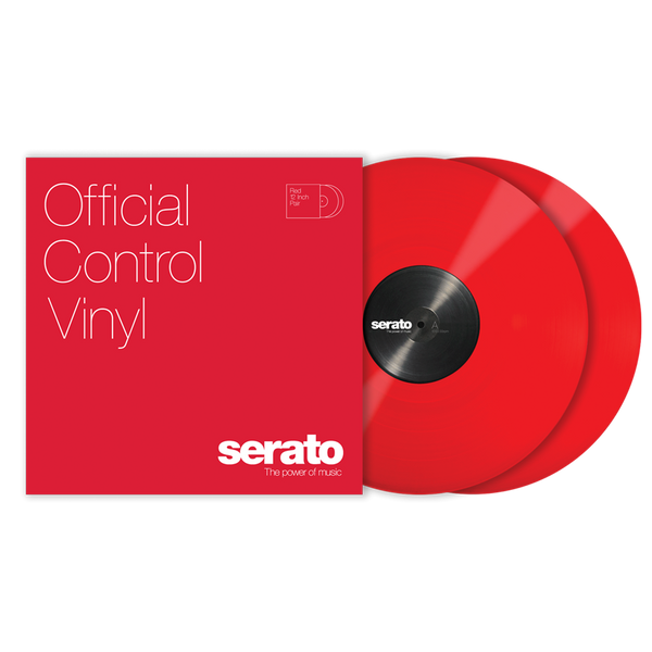 Serato Performance Series Control Vinyl Red (Pair)