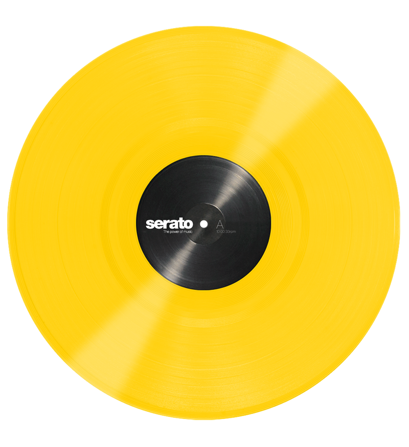 Serato Performance Series Control Vinyl Yellow (Pair)