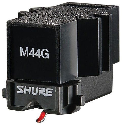Shure M44-G  Cartridge with optional Headshell