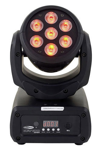 Showtec KANJO WASH RGB Mini-Moving Head Lighing Effect