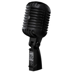 Shure Super 55-BLK Deluxe Vocal Microphone Pitch Black Ltd Edition