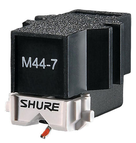 SHURE M44-7 Turntablist Cartridge with optional Headshell