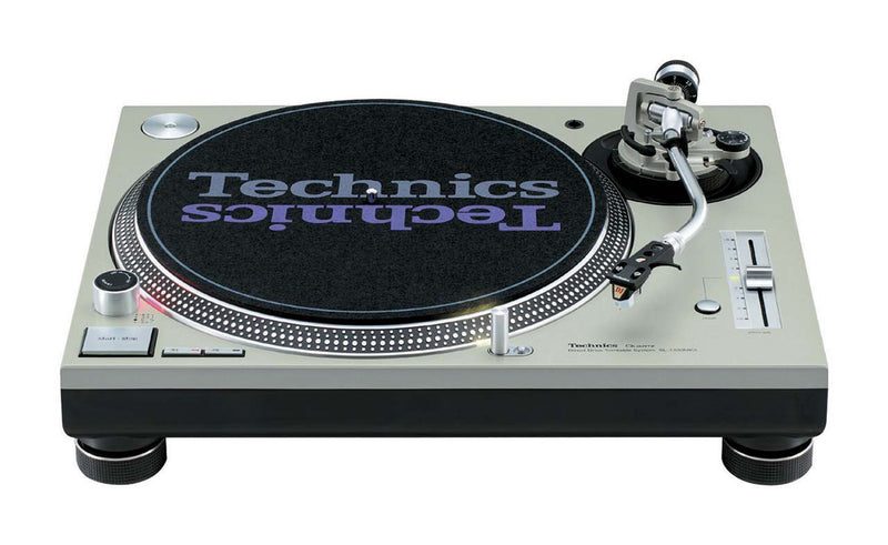 Technics SL-1200MK5 DJ Turntable | Custom White with Blue LEDs