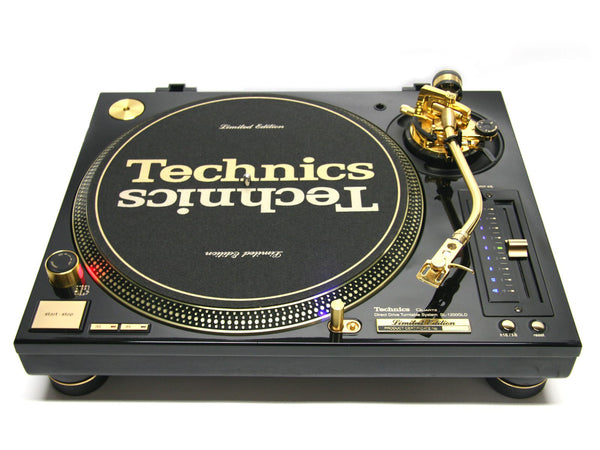Technics SL-1200GLD Limited Edition Gold Turntable