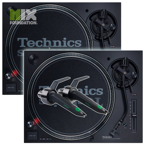 Technics SL-1210MK7 Direct Drive DJ Turntable (PAIR) with Ortofon Concorde Cartridges Package SEPT. PRE-ORDER