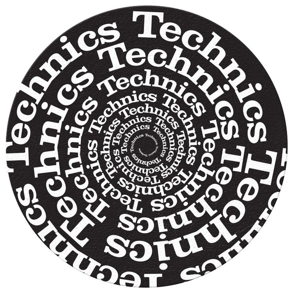 Technics Spiral DJ Slipmats | Pair