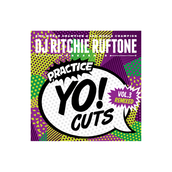 DJ Ritchie Rufftone PRACTICE YO! CUTS Vol.3 REMIXED 7 Inch Battle Record