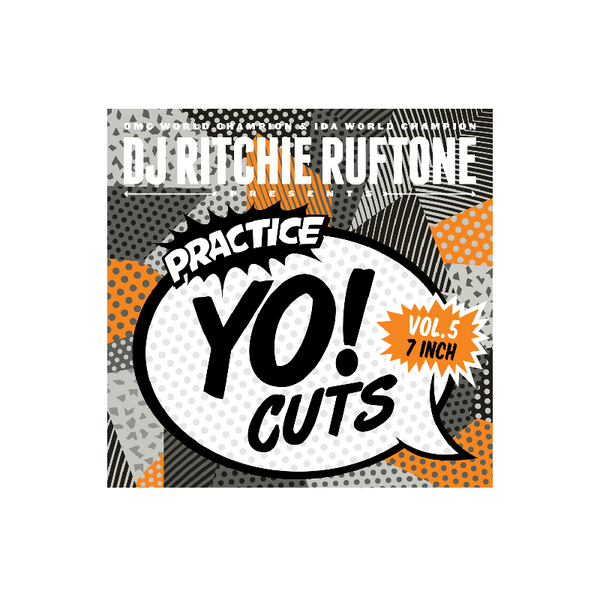 DJ Ritchie Rufftone PRACTICE YO! CUTS Vol.5 REMIXED 7 Inch Battle Record