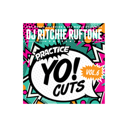 DJ Ritchie Rufftone PRACTICE YO! CUTS Vol.6 REMIXED 7 Inch Battle Record