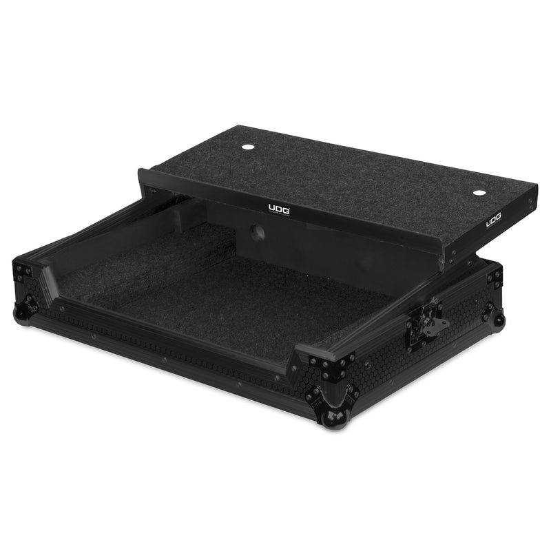 UDG Ultimate FLIGHT CASE Pioneer DDJ-SX2/SX3/RX Black MK2 Plus (Laptop Shelf)