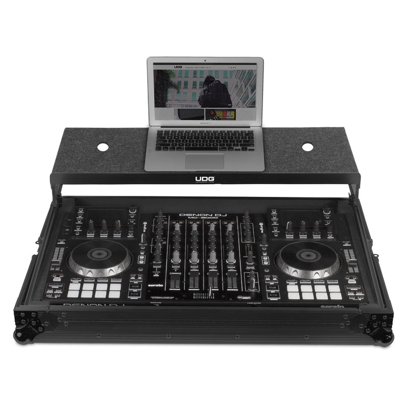 UDG Ultimate FLIGHT CASE Multi Format XXL MK3 Black Plus (Laptop Shelf) Fits: Pioneer DDJ-800, DDJ-1000, DDJ-SX3, XDJ-RX2