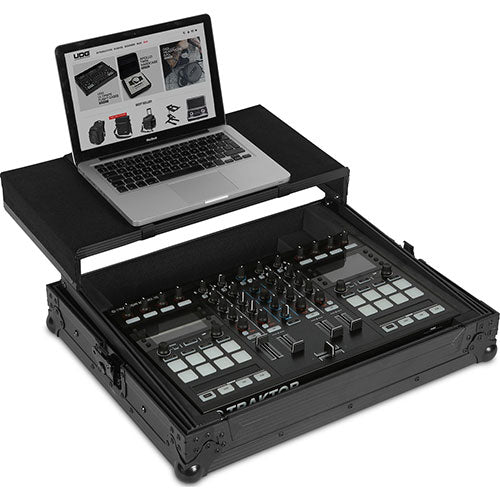 UDG Ultimate FLIGHT CASE Multi Format XL MKII Black Plus (Laptop Shelf)