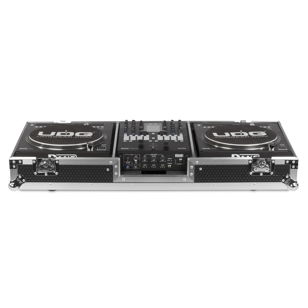 UDG Ultimate FLIGHT CASE Set Rane Twelve & Seventy-Two Silver Plus (Wheels)