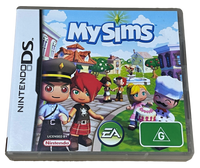 My Sims Nintendo DS 2DS 3DS Game *Complete* (PreOwned)