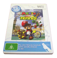 Mario Power Tennis Nintendo Wii PAL - Manual Included (Preowned)