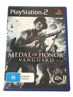 Medal of Honor Vanguard PS2 PAL *Complete* WWII (Pre-Owned)