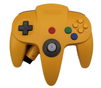 Genuine Yellow Nintendo 64 Controller Refurbed Toggle (Preowned)