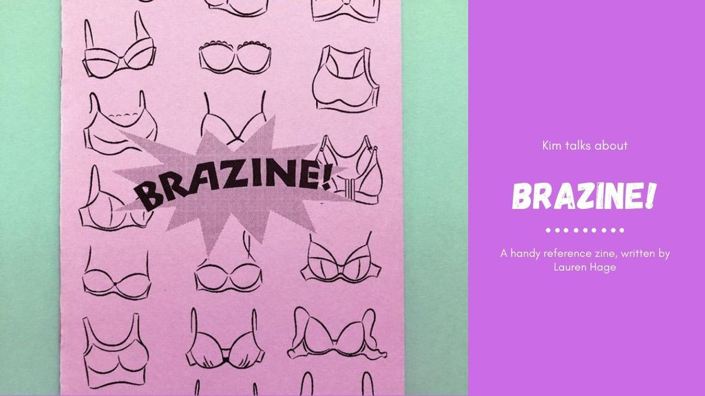 Kim chats about Brazine. A handy reference guide by Lauren Hage.