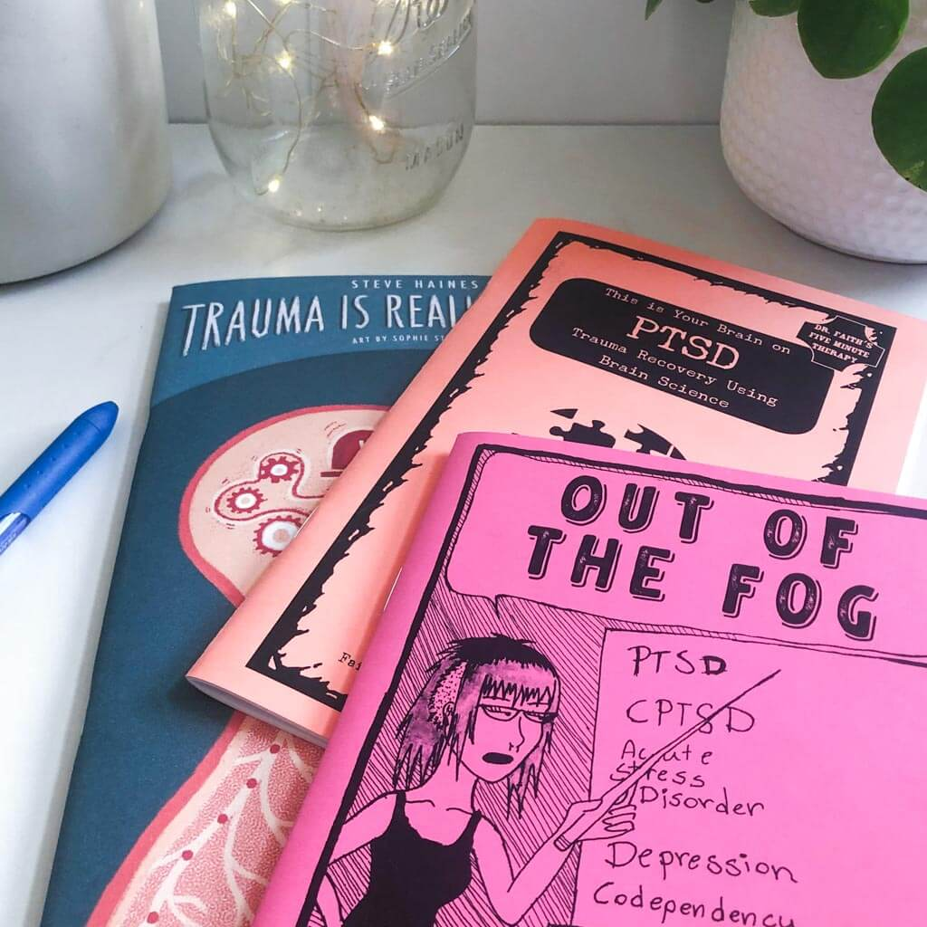 Trauma and PTSD Mental Health Zines Feature