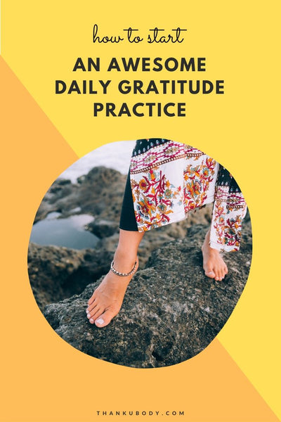 Having a daily gratitude practice can help you to feel happier and more optimistic in life. It's like when you go outside and feel the sun's warm rays touching your skin. It just makes you feel happy inside. Here are some ways to get started with an awesome gratitude practice.