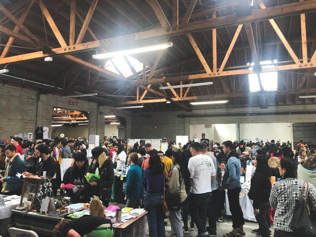 The thriving zine loving community at the 2018 LA Zine Fest
