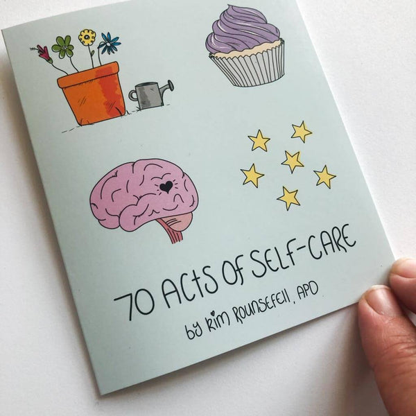70 Acts of Self Care Mini Zine