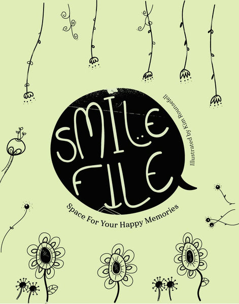Smile File: A Place to Store Happy Memories Workbook Cover
