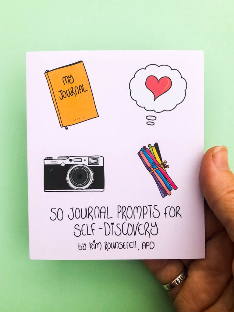 50 Journal Prompts for Self-Discovery Reference Guide - thankubody Zines