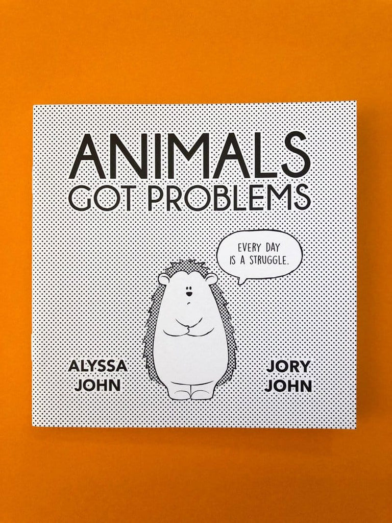 Animals Got Problems: Mental Health Comic Zine - thankubody Zines