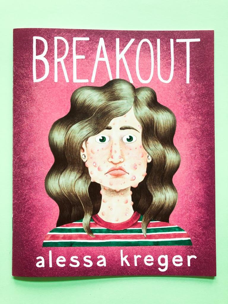 Breakout comic-zine front cover by Alessa Kreger