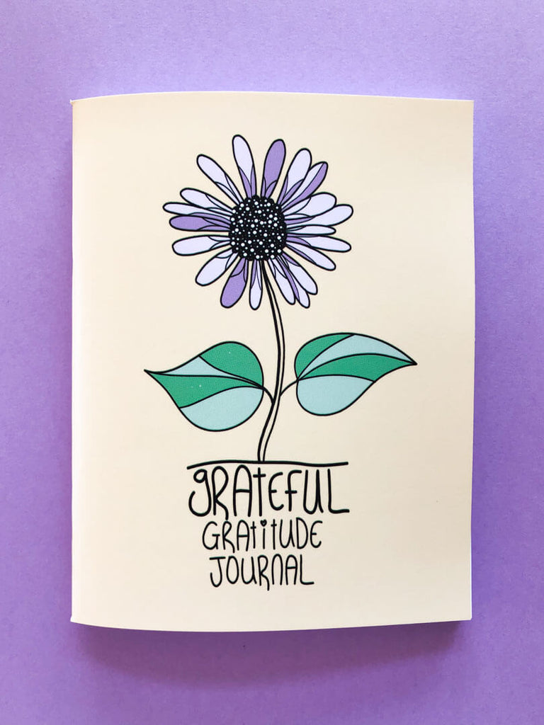 Grateful Gratitude Journal, 3 Journal Set - thankubody Zines