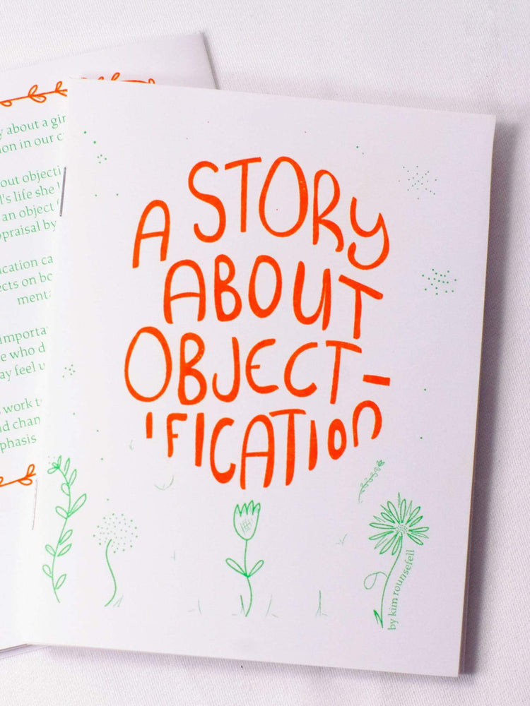 If you're feeling unsure about how you came to feel unhappy with your body, this illustrated story and self-care zine may help to shed light.   This little zine tells a bigger story as it builds awareness of the impact that media can have on your thoughts and feelings about your body.