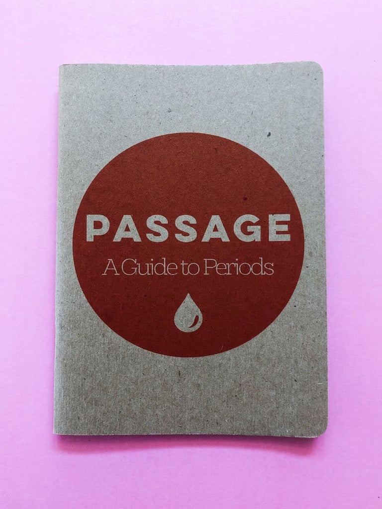 Passage A Guide to Periods | Period Cycle Workbook - thankubody Zines