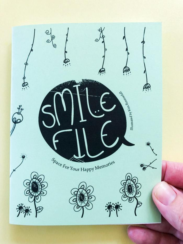 Smile File Zine: A Space for Your Happy Memories - thankubody