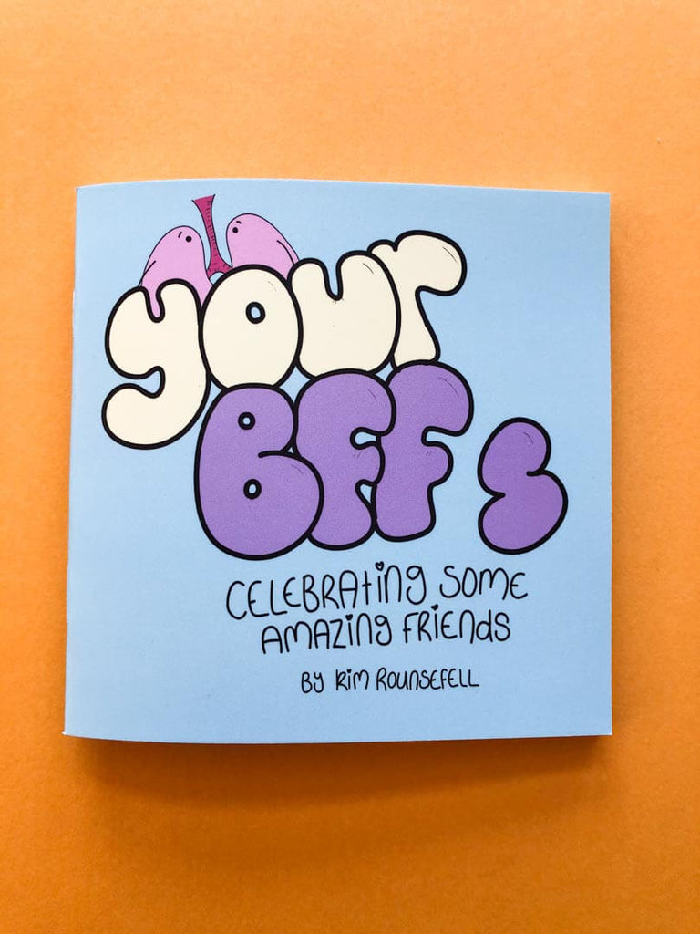 Your BFFs - Body Image Zine Cover - thankubody Zines