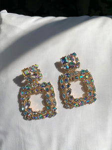 Iridescent Jewel Earrings