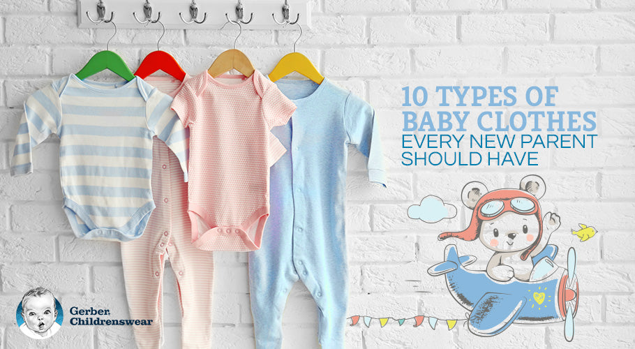 10 types of baby clothes every parent should have
