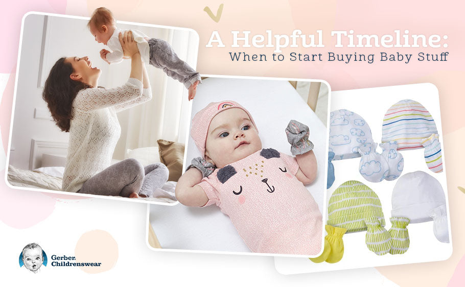 A Helpful Timeline: When to Start Buying Baby Stuff