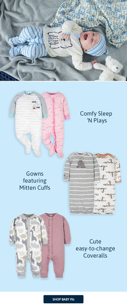 Gerber Childrenswear Sleepwear for Baby and toddler