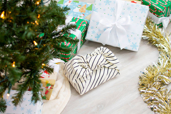 Blog-How to Wrap a Present Using a Gerber Flannel Blanket