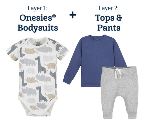Onesies, Tops & Bottoms For Baby