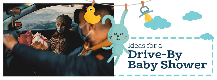 Ideas for a Drive-By Baby Shower
