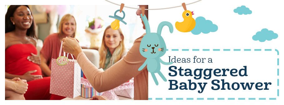 Staggered In-Person Baby Shower