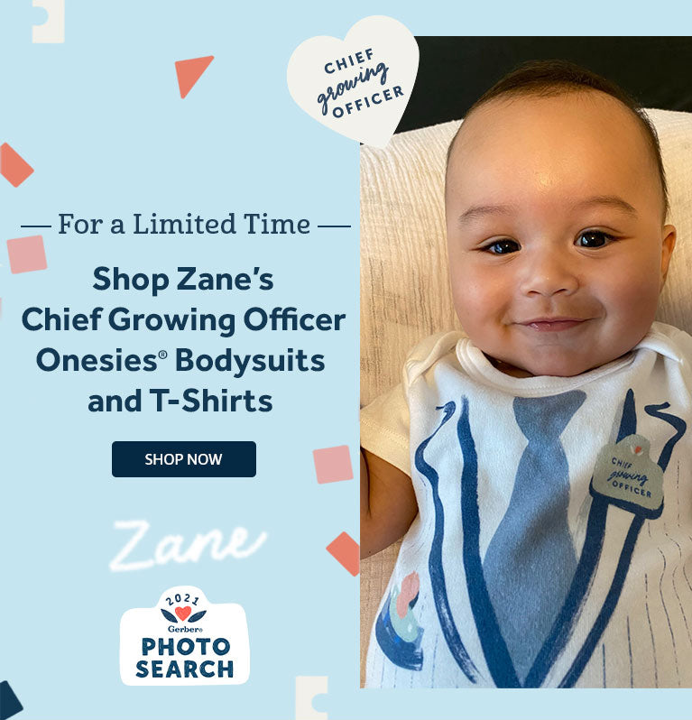 Gerber Spokesbaby Chief Growing Officer Baby Outfit