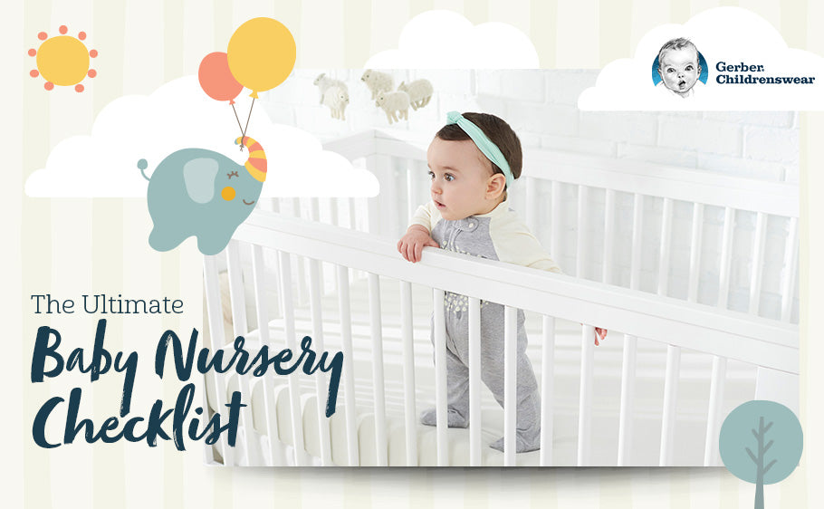 The Ultimate Baby Nursery Checklist